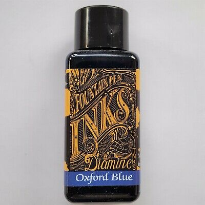Tinta Diamine Oxford Blue  Bote 30 Ml.