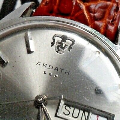 Men's 1970's Vintage Ardath Reefguard SuperAutomatic 25J Swiss Automatic Watch
