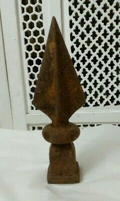 Antique Cast Iron Finial FENCE FINIAL