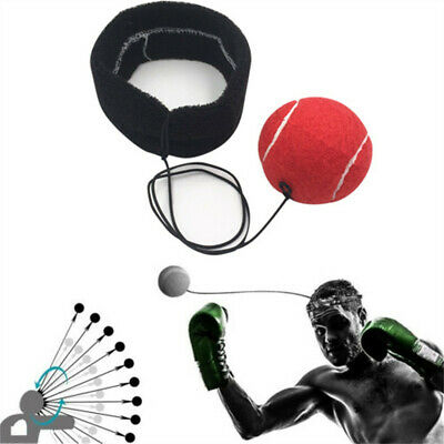 Fight Ball With Head Band For Reflex Speed Training Boxing Punch Exercise Foam