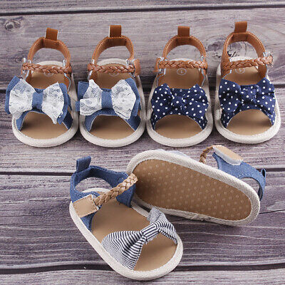 Fashion Baby Infant Kid Girl boy Summer Soft Crib Toddler Leather Sandals Shoes