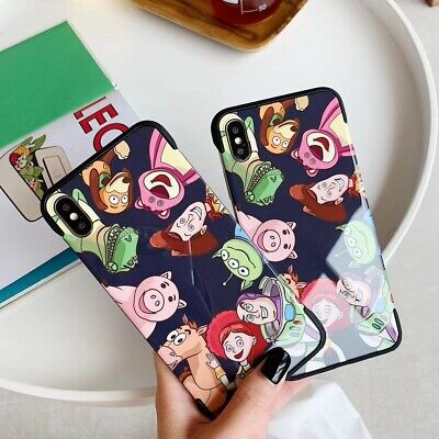 Cartoon Movie Toy Story UNBreak Phone Case Cover For Apple iPhone 7-XS Max