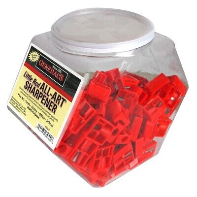 General's Little Red All-Art Sharpener 100-Count Tub  - 100-Count Tub