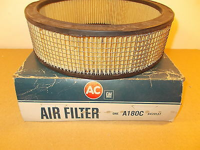 1967 Buick GS400 A180C 6420137 Square Mesh AC Air Filter Darth Vader Cleaner GM