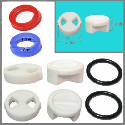 """1/2"""" Replacement ceramic disc & silicon gasket washers insert turn valve Tap UK"""