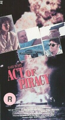 ACT OF PIRACY VHS OOP Cult Action GARY BUSEY 1990