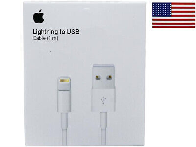 Original OEM USB Data Charger Cables Cords For Apple iPad & iPhone 5 6 7 8 X XR