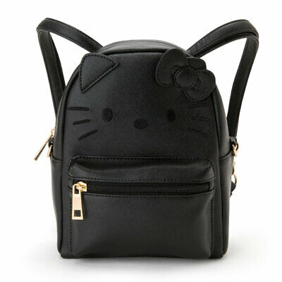 601e9ef4f Hello Kitty Sanrio Bag Backpack shoulder bag Mini black Japan Kawaii Free  Ship