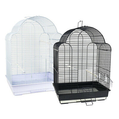 Bird Cage for Budgie Finch Canary Cockatiel Parakeet Travel Carrier Tray Perch