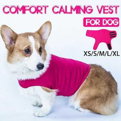 Pet Anti-Anxiety Jacket Dog Comfort Calming Vest Clothes Thundershirt Mood Calm
