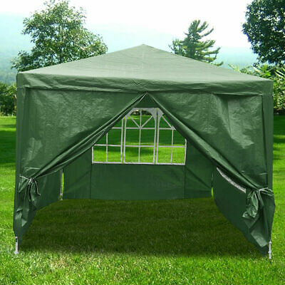 4 x 3m Garden Pop Up Gazebo Marquee Heavy Duty Party Tent Outdoor Wedding Canopy