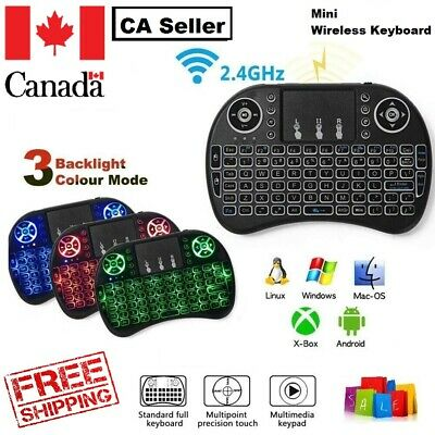 2.4Ghz Mini Wireless Bluetooth Remote Touchpad Keyboard MouseMice + USB Receiver