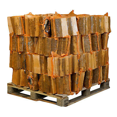 Kiln Dried Hardwood Firewood 'Ready To Burn' Logs Mixed Hardwood 40 Nets