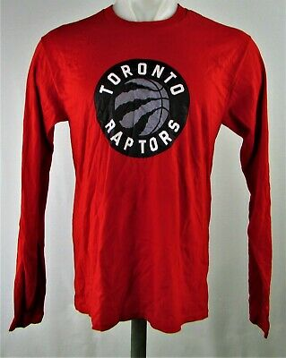 Toronto Raptors NBA Men's Red Long Sleeve T-Shirt