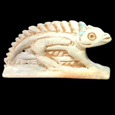 Beautiful Ancient Egyptian Lizzard Amulet 300 Bc (7)