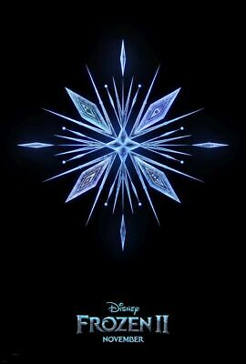 Frozen II 2 - original DS movie poster - D/S 27x40 - 2019