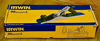 IRWIN Record No.05 Jack Plane 50mm (2in) Brand New Boxed