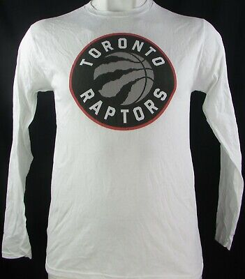 Toronto Raptors NBA Men's White Long Sleeve T-Shirt