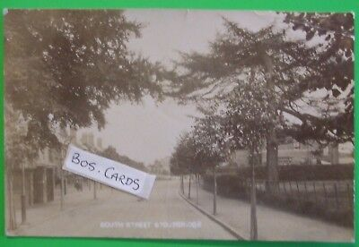 RP Postcard POSTED 1907 SOUTH STREET STOURBRIDGE WORCESTERSHIRE