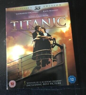 Titanic 3D Blu-ray Collector's Edition - Preowned