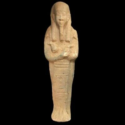 EGYPTIAN HIEROGLYPHIC SHABTI, LATE PERIOD 664 - 332 BC (5) Large Over 20 cm !!!!