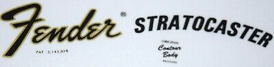 1970's 'CBS' Stratocaster Vinyl Logo / Decal - different to a waterslide