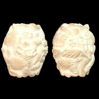 Rare Ancient Near Eastern Seal With Bust 300 Bc (4)