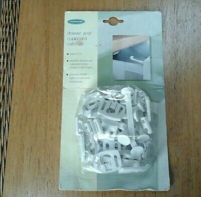 MOTHERCARE Twelve Child DRAWER & CUPBOARD SAFETY CATCHES NEW Unused UNOPENED
