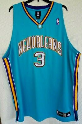 brand new fe4d9 d89c9 Chris Paul New Orleans Hornets Jersey NBA Basketball STITCHED Mens 2XL 52
