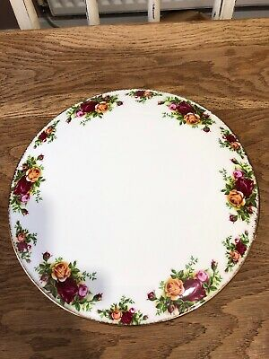 Royal Albert Old Country Roses Large Gateau Cake Plate 29cm