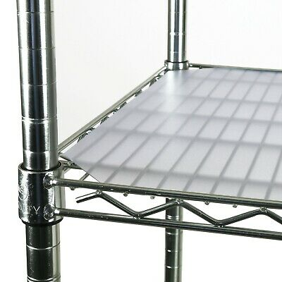 PVC Shelf Liners for Wire Shelving, 4 Pack, Clear Shelf Liners, Multiple Sizes