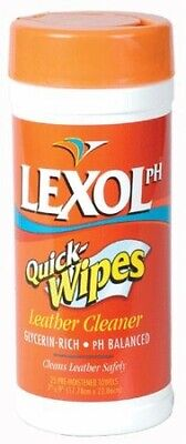 Lexol PH Quick Wipes Leather Cleaner