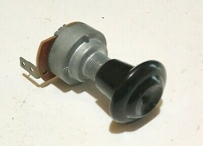 55 56 57 58 59 Chevrolet Pickup Chevy Truck Electric Wiper Switch 1-speed Knob