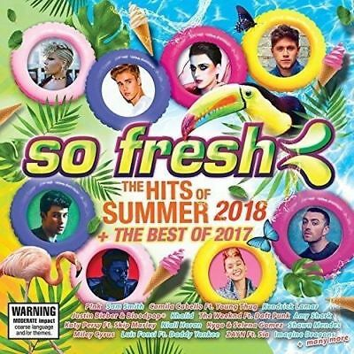 SO FRESH The Hits Of Summer 2018 + The Best Of 2017 2CD NEW Pink Khalid Halsey