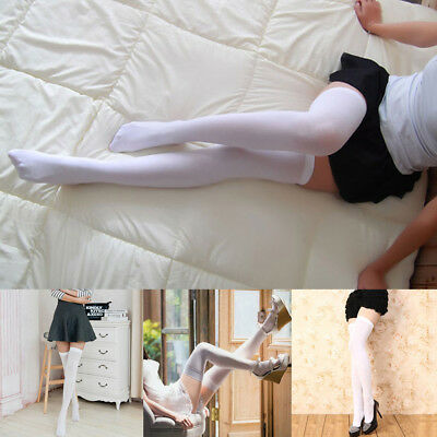 Women Candy Color Cosplay Over the Knee Long Sock Elasticity Antiskid Supply