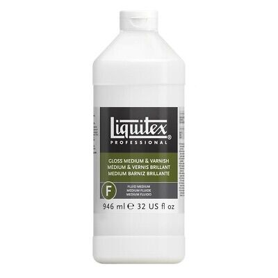 Liquitex Gloss Medium and Varnish - Quart  - Quart