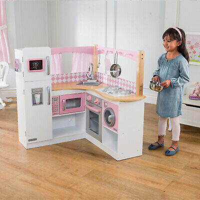Disney Princess Style Collection Gourmet Kitchen Set With Real Lights And Sounds Pretend Play Kitchens Monalisa Tiles Com