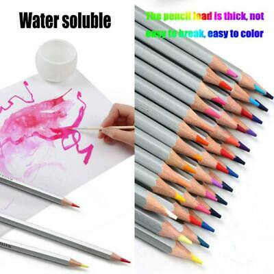 Professional Art Watercolor Pencils Water Soluble Multi Colored Drawing Pencils