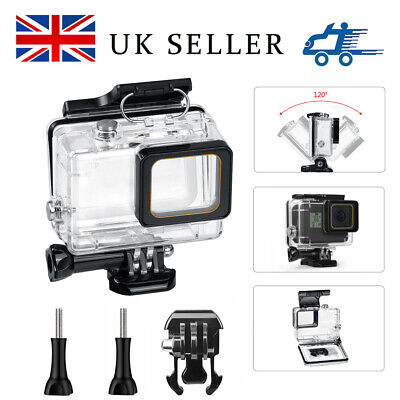 Waterproof Diving Protective Housing Clear Case For GoPro Hero7 2018 6 5,... NEW