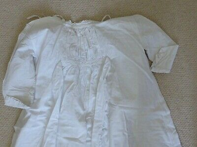 Childs  victorian/edwardian white cotton nightdress