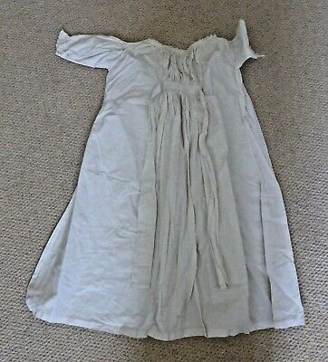 Babies  victorian/edwardian white cotton nightdress