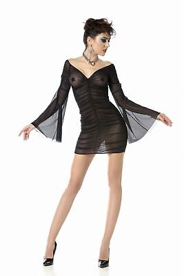 ♥ Robe Sexy Resille Noire Manches ♦ Opal Patrice Catanzaro ♦36/38/40/42/44 ♥