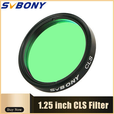 SVBONY 1.25'' City Light Suppression Filters For Visual+Astronomical Photography