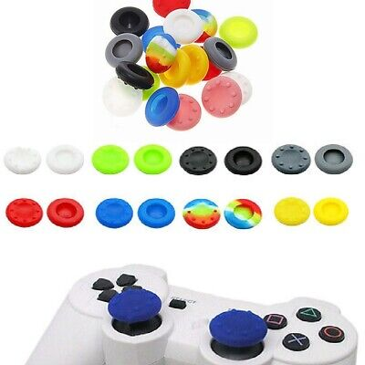 10 pcs Silicone Joystick Thumb Stick Grips Cap Case for PS3 PS4 Xbox One/360 new