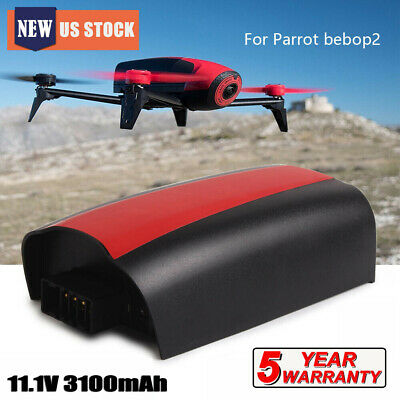 US 3100mAh 11.1V Lipo Battery Replacement For Parrot Bebop 2 Drone Quadcopter TP