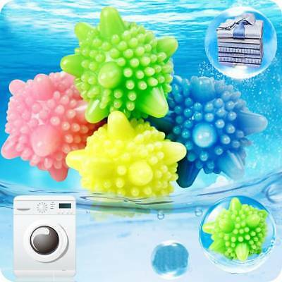 4Pcs Magic Removal Laundry Cleaning Ball Clothes Washing Machine Reusable Tool