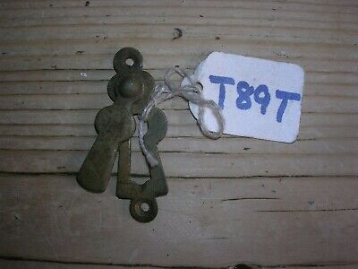 Antique Brass Escutcheon With Cover (T89T)