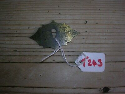 Antique Brass Escutcheon For Writing Slope (T243)