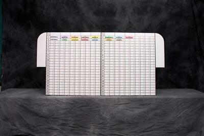 10-Team Fantasy Football Free-Standing Draft Board & Jumbo NFL AUCTION Labels