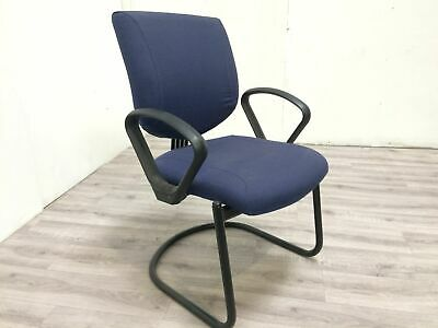 Job Lot 24 Blue Arm Chairs Conference Banquet Reception Office Waiting